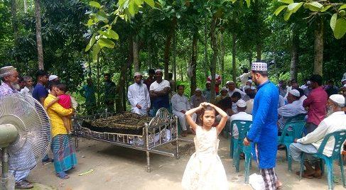 ডামুড্যায় মুদী দোকানে আগুন, পুড়ে মারা গেলেন বৃদ্ধ মালিক
