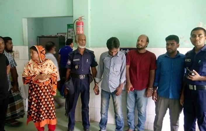 শরীয়তপুর সদর হাসপাতালে ৪ দালালের কারাদন্ড
